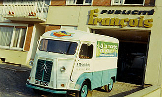Histoire enseigne francois camion